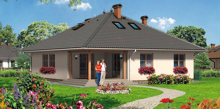 Dom jednorodzinny Piła i okolice - 198m2