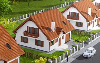 Domy z gruntem Zawada k/Piły