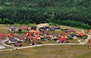 Widok działek budowlanych Piła - Zawada